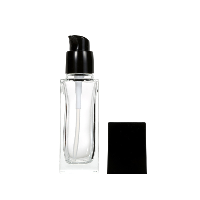 Lotion Pump Liquid Foundation Glass Bottle Featured Image
