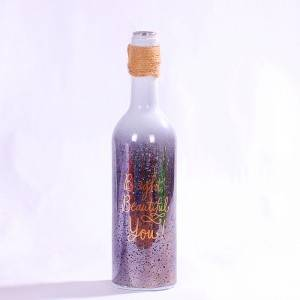 Wholesale Milk Bottle-  Laying Wine Bottle Decoration Glass Light – Sogood