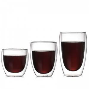 Double walled thermo glasses