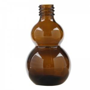 Amber Essentia Glass Bottles with Glass Droppers