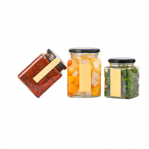 120ML 200ML 380ML jar glass food storage