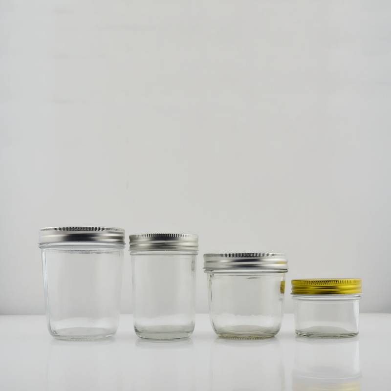 Competitive Price for Beer Bottle - Wide Mouth Mason Glass Jars with Lids – Sogood
