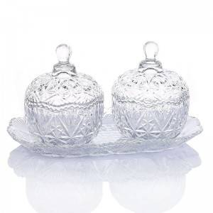 Glass candy Holders for Weddings storage jar