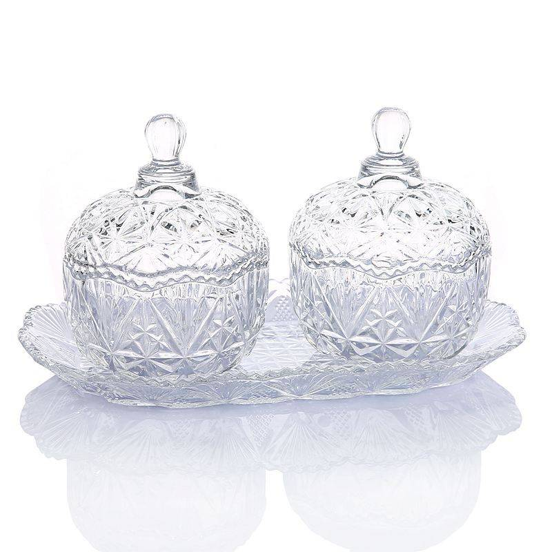 Glass candy Holders for Weddings storage jar Featured Image