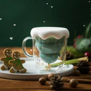Funny Chrismas Coffee Cup with Lid