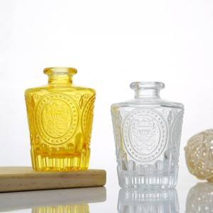 Feel Fragrance Glass Diffuser Bottles Diffuser Jars with Caps
