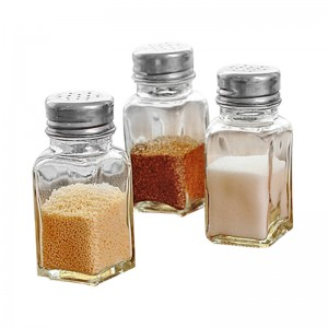 China Wishing Bottle Suppliers - Factory Food Sealed Round Kitchen Glass Sugar Bottles  – Sogood