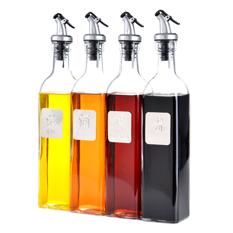 Wholesale Vinegar Bottle Factories - Wholesale 500ml Round Olive Oil Glass Bottle – Sogood Featured Image