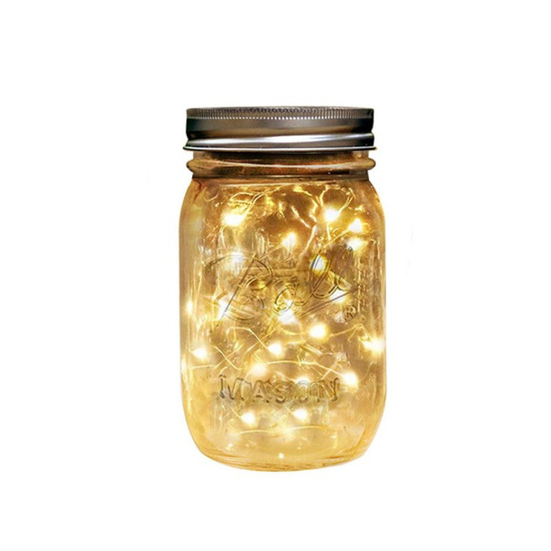 Wholesale Tinplate Cover Suppliers - Hot Sell Outdoor LED String Light Mason Jar – Sogood