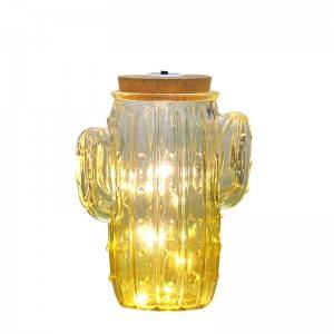 Wholesale Beer Bottles Factories - Cactus-shaped Decoration Glass Lights – Sogood