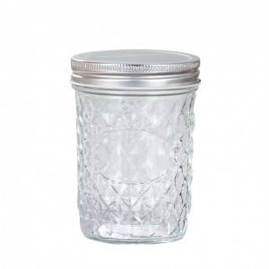 Ball Quilted Mason Jars with Lids