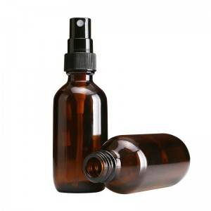 Hot sell 10ml15ml 20ml 30ml 50ml 100ml round glass spray bottle with spray