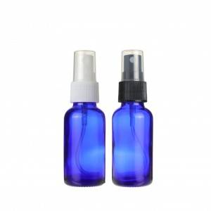 Hot sell Glass Empty Small Fine Mist Spray Bottle for Essential Oils