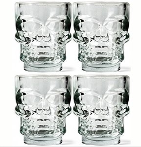 60 ML Glass Skull Wine Shape For Beer/ Whisky Skull Glass Cup