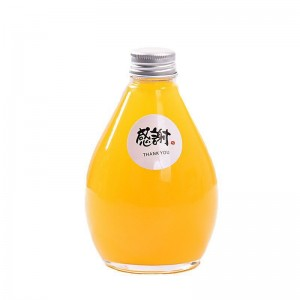 100ml 280ml 350ml 500ml Clear Frosted Milk Tea Beverage Glass Bottle