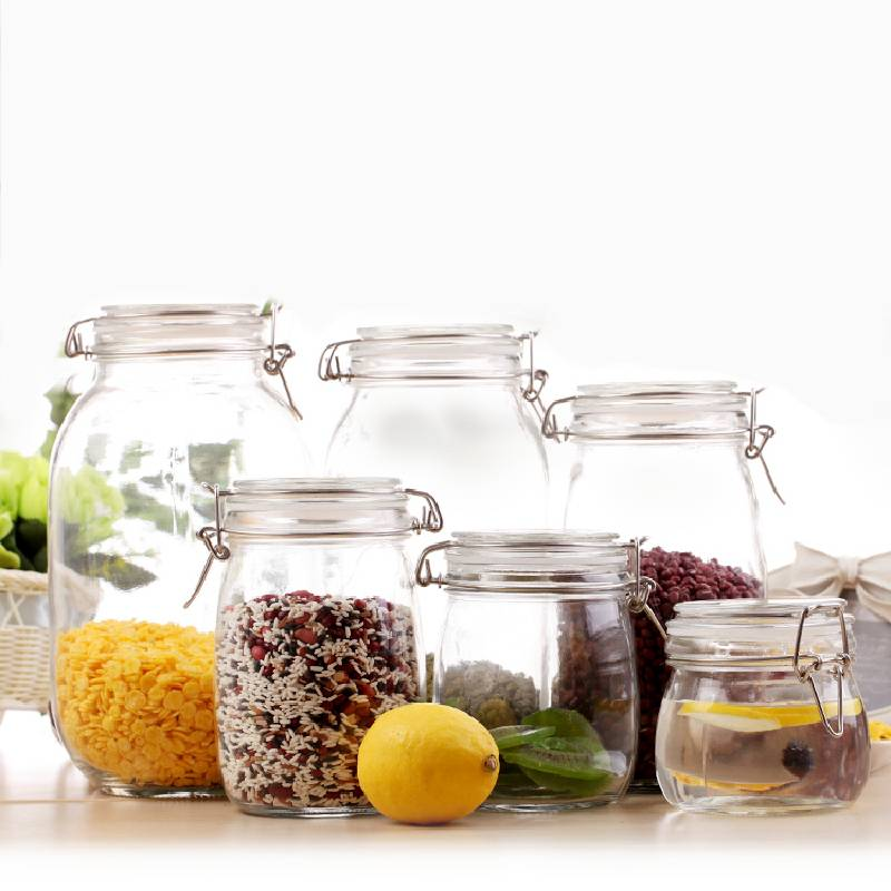 Wholesale Glass Nut Storage Jar Suppliers - FIDO Jars – Sogood detail pictures