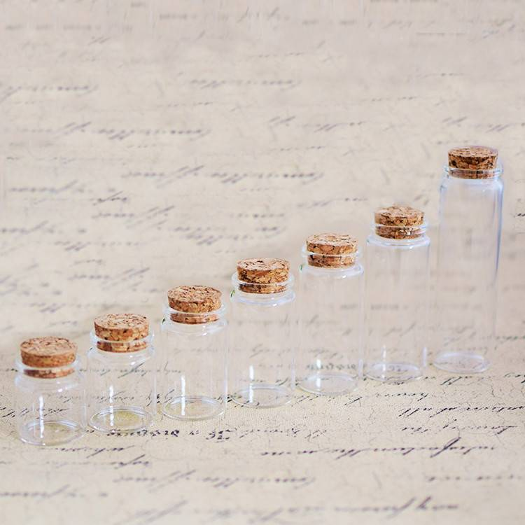 China Supplier Dressing Bottle - Bayonet Tube Vials with Cork Stopper(D37) – Sogood Featured Image