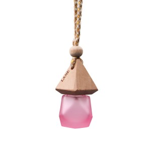 8ml Diffuser Glass Bottle Empty Hanging with Wooden Cap