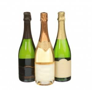 750ML Glass Sparkling/Champagne/Wine Bottle
