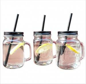 500ml drink glass bottle Mason Jar