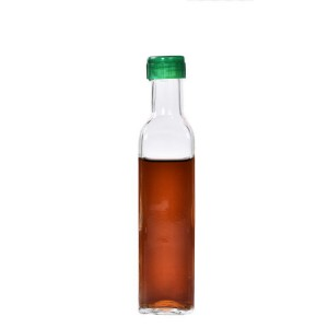 Green glass bottle for olive oil