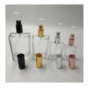 Wholesale Glass Compote Factory - Empty Glass Spray Perfume Bottles,with Fine Mist Spray,  – Sogood