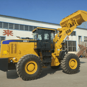 Cheap price Compact Articulated Wheel Loader - LQM 656G wheel loader – Jufenglong