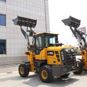 Wholesale Big Wheel Loader - Wheel loaders ZL 926 – Jufenglong