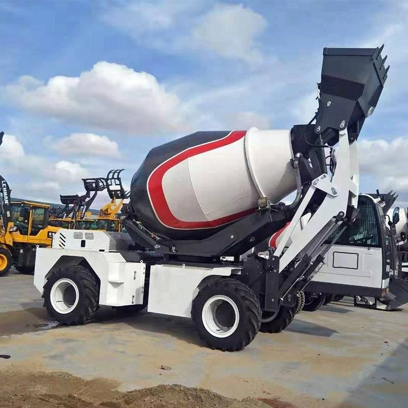 Wholesale Price Twenty Trucks Cement Mixer - Self Loading Concrete Mixer LM4200(3.0m3) – Jufenglong detail pictures