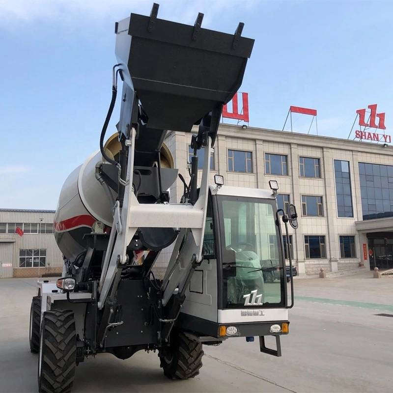 OEM Manufacturer Mobile Cement Mixer Trucks - Mixer Trucks LM5800(4.0m3) – Jufenglong