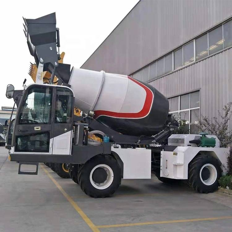 OEM Manufacturer Mobile Cement Mixer Trucks - Mixer Trucks LM5800(4.0m3) – Jufenglong detail pictures
