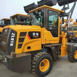 Professional China Mini Wheel Loader - Wheel loaders ZL 916 – Jufenglong