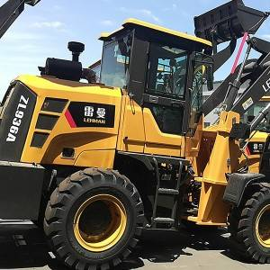 Cheapest Factory Zero Turn Front End Loader - Wheel loaders ZL 936A – Jufenglong