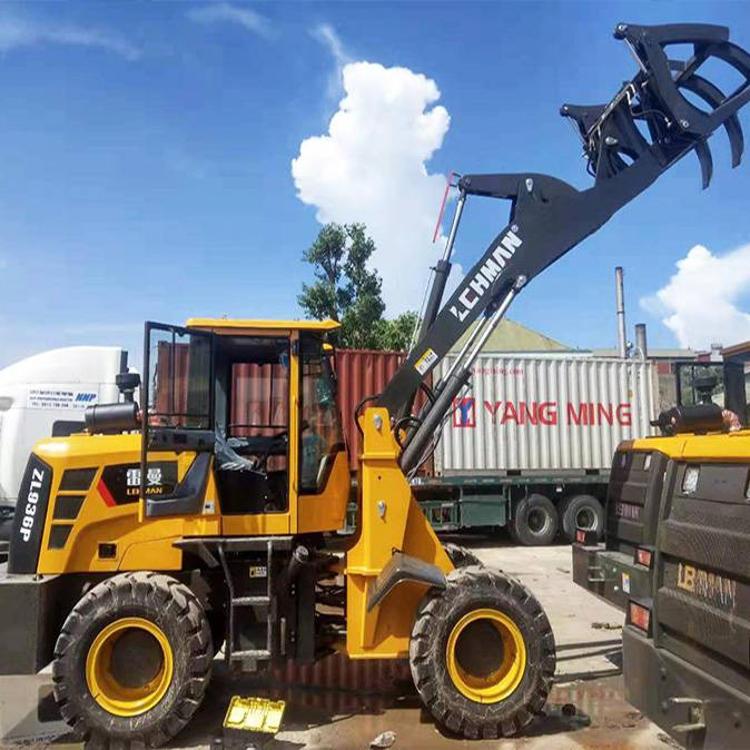 Newly Arrival Front End Loader Backhoe - Wheel loaders ZL 936P – Jufenglong