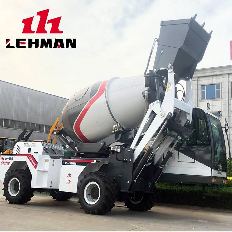 China New Product Transit Mixer Vehicle - Mixer Trucks LM5000L(3.5m3) – Jufenglong detail pictures