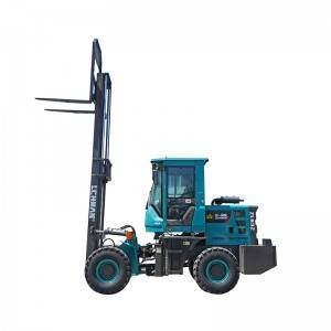 OEM/ODM Supplier Mobile Concrete Batch Truck - Rough Terrain Forklift – Jufenglong