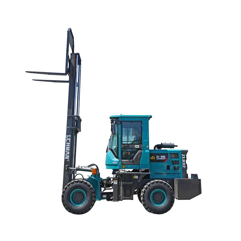 Wholesale Cement Truck Trailer - Rough Terrain Forklift – Jufenglong
