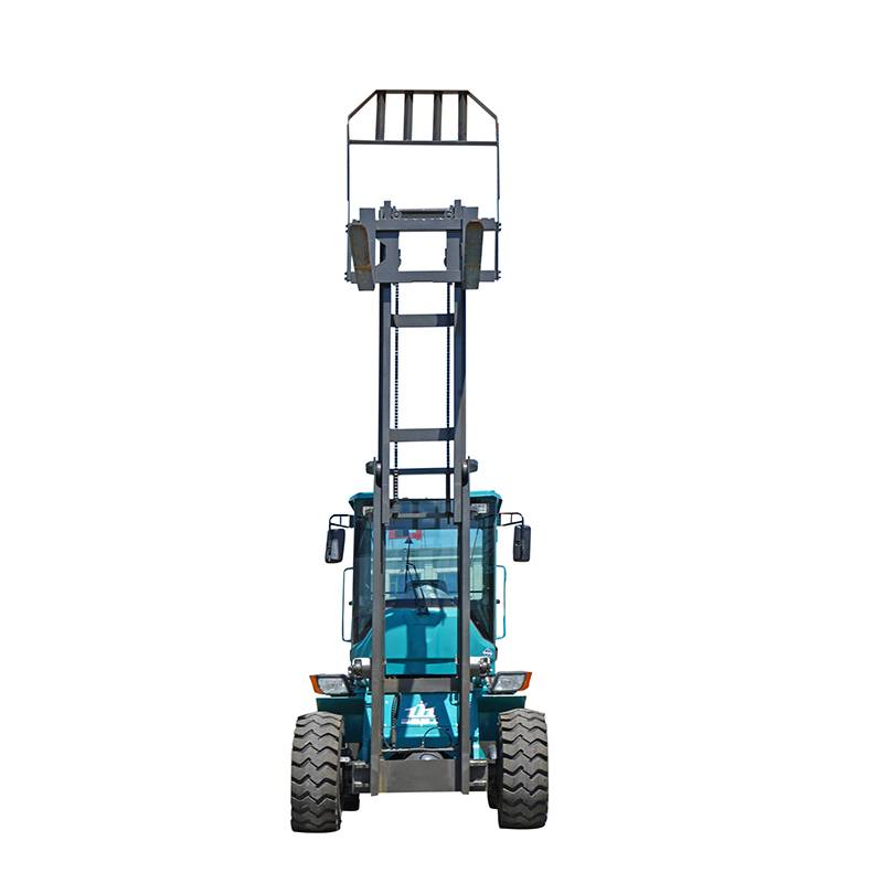 Wholesale Price China Front Discharge Cement Truck - Rough Terrain Forklift – Jufenglong