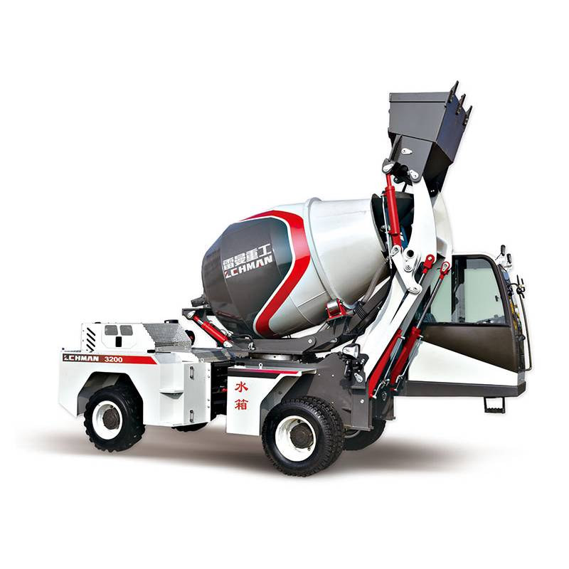 OEM China Volumetric Concrete Mixer - Self-loading mixer truck LM3200(2.0m3) – Jufenglong