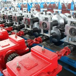 Good Wholesale Vendors C Section Roll Forming Machine - Guard Rail Roll Forming Machine – COREWIRE