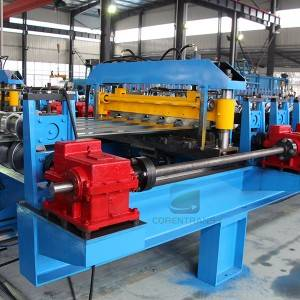 Top Suppliers Roll Forming Machine Standing Seam For Sale - High Speed Roofing Panel Roll Forming Machine – COREWIRE