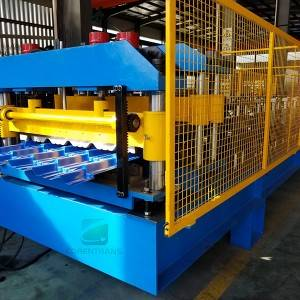 Factory source Standing Seam Roll Forming Machines For Sale - Tile Roll Forming Machine – COREWIRE