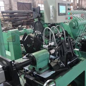 Top Quality Wire Drawing Machine Process - High Quality Chain Link Fence Making Machine – COREWIRE