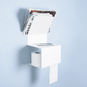Toilet roll paper holder