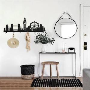LONDON modern wall mounted coat rack