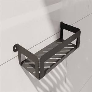 Multi functional metal wall shelf