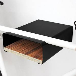 Modern Simple wall mounted bike rack