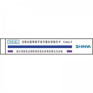 Manufacturer for Autoclave - Hydrogen peroxide low temperature plasma sterilization chemical indicator card – Shinva