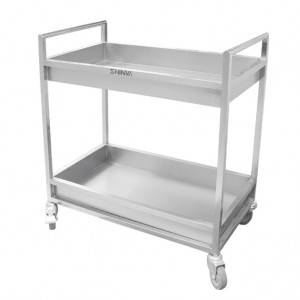 Double-layer platform trolley