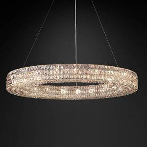 China Luxury lighting factory modern crystal chandelier for home decorative